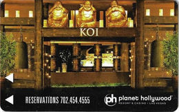 Planet Hollywood Casino - Las Vegas NV - Hotel Room Key Card - Cartas De Hotels