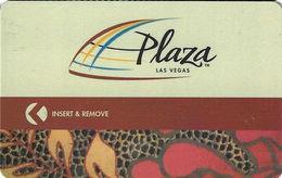 Plaza Casino - Las Vegas NV - Hotel Room Key Card - Hotel Keycards