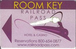 Railroad Pass Casino - Henderson NV - Hotel Room Key Card - Hotel Keycards