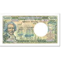 Billet, Tahiti, 5000 Francs, 1985, Undated (1985), KM:28d, SPL - Papeete (Polynésie Française 1914-1985)