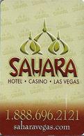 Sahara Casino - Las Vegas NV - Hotel Room Key Card - Hotel Keycards