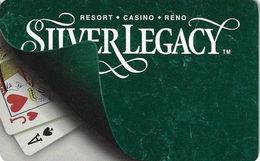 Silver Legacy Casino - Reno NV - Hotel Room Key Card - Hotel Keycards