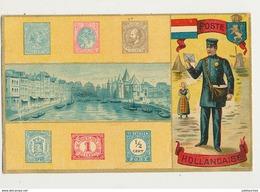 TIMBRES POSTE HOLLANDAISE CPA BON ETAT - Briefmarken (Abbildungen)
