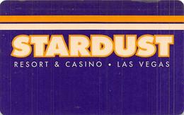 Stardust Casino -Las Vegas NV - Hotel Room Key Card - Hotel Keycards