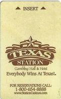 Texas Station Gambling Hall / Casino -Las Vegas NV - Hotel Room Key Card - Hotel Keycards