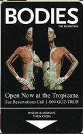 Tropicana Casino - Las Vegas NV - Hotel Room Key Card - Hotel Keycards