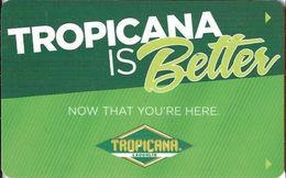 Tropicana Laughlin Casino - Laughlin NV - Hotel Room Key Card - Hotel Keycards
