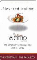 The Venetian & The Palazzo Casinos - Las Vegas NV - Hotel Room Key Card - Hotel Keycards