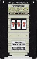 Wendover Nugget Casino - Eendover NV - Hotel Room Key Card - Hotel Keycards