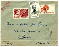 27525 - Par Avion Pour La France - Madagascar (1889-1960)