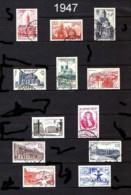 FRANCE - Année Complète 1947 - N° 772 à 792 - Oblitérés - Très Beaux - Francia