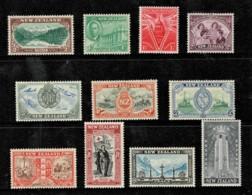 New Zealand 1946 Victory Set Of 11 MNH - - 1907-1947 Dominion