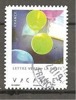 FRANCE 2019 Y T N ° 1??? Oblitéré CACHET ROND  VACANCES - Francia