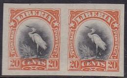 Liberia 1906 Sc 106a Mint Hinged Imperf - Liberia
