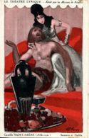 N°2212 T -cpa Le Théâtre Lyrique -Samson Et Dalila- Illustrateur Gassy- - Theatre
