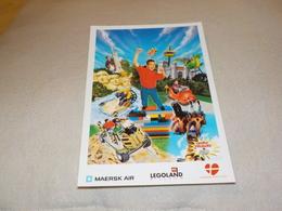 PUBLICITE VISITEZ DANNEMARK  A LEGOLAND - Advertising