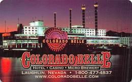 Phone Card From The Colorado Belle Casino In Laughlin, NV - Tarjetas De Casino