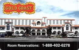 Phone Card From The Gold Coast Casino In Las Vegas, NV - Tarjetas De Casino