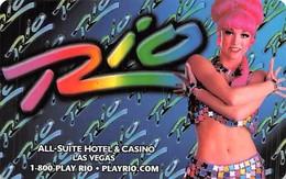 Phone Card From The Rio Casino In Las Vegas, NV - Tarjetas De Casino