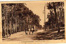 Ile D'oleron St Saint Trojan Route De La Plage - Ile D'Oléron