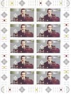 Germania 1995 - Centenario Della Radio, Ritratto Di Marconi. Foglietto Completo MNH** Integro - [7] Repubblica Federale