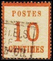 1870. NORDDEUTSCHER POSTBEZIRK. OKKUPATIONSGEBIETE. POSTES  10 CENTIMES.  (Michel 5 I) - JF320044 - North German Conf.