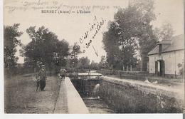 BERNOT. CP Voyagée En 1932 L'Ecluse - France