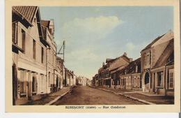 RIBEMONT. CP Rue Condorcet - France