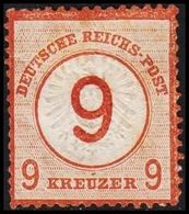 1874. DEUTSCHE REICHS-POST. Grossem Brustschild 9 / 9 GROSCHEN  (Michel 30) - JF320088 - Allemagne