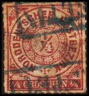 1868. NORDDEUTSCHER POSTBEZIRK.  1/4 GROSCHEN. () - JF320090 - North German Conf.