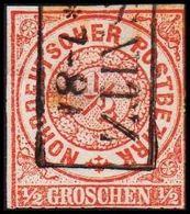 1868. NORDDEUTSCHER POSTBEZIRK.  1/2 GROSCHEN.  () - JF320095 - North German Conf.
