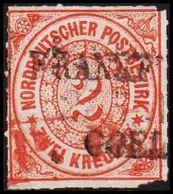 1868. NORDDEUTSCHER POSTBEZIRK.  2 KREUZER.  () - JF320097 - North German Conf.