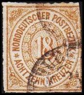 1868. NORDDEUTSCHER POSTBEZIRK.  18 KREUZER.  () - JF320098 - North German Conf.
