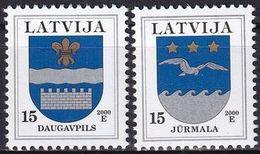 LETTLAND 2000 Mi-Nr. 521/22 I ** MNH - Latvia