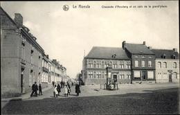 Cp Le Roeulx Wallonien Hennegau, Chausee D'Houdent Et Un Coin De La Grand' Place - Belgique