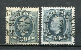 Schweden Nr.48  Farben          O  Used      (1277) - Schweden