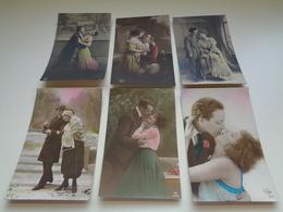 Beau Lot De 60 Cartes Postales De Fantaisie  Couples  Couple    Mooi Lot Van 60 Postkaarten Fantasie Koppels  Koppel - Postkaarten