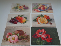 Beau Lot De 10 Cartes Postales De Fantaisie Illustrateur Catharina Klein  Mooi Lot Van 10 Postkaarten Van Fantasie Klein - Postkaarten