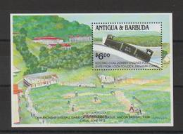 Antigua Et Barbuda 1991 Trains BF 216 ** MNH - Antigua Et Barbuda (1981-...)