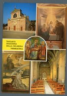 °°° Cartolina - Terracina Santuario Madonna Della Delibera Vedute Scritta °°° - Latina
