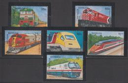 Antigua Et Barbuda 1995 Trains 1958-63 6 Val ** MNH - Antigua And Barbuda (1981-...)