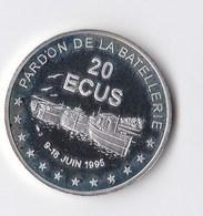 Pièce En ARGENT De 20 ECUS, 1995 Pardon De La Batellerie, Conflans Ste Honorine EXCELLENT ETAT DANS SON ECRIN Voir Scans - Euros Des Villes