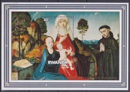 1982Rwanda1192/B97Painting - Autres