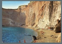 °°° Cartolina - Ponza Spiaggia Chiaia Di Luna Scritta °°° - Latina