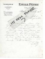 75 - Paris - PARIS - Facture PETRY - Tannerie à LUZY (58) - 1918 - REF 130B - France
