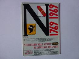 CPM, 2e CENTENAIRE DE LA NAISSANCE DE NAPOLEON BONAPARTE, 1769/1969,VOIR SCAN - Non Classés