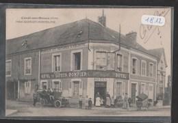 Cpa 1812 Condé Sur Huisne Hôtel Georget Hermeline ( Rare) - France