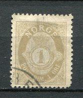 Norwegen Nr.52 A          O  Used      (1133) - Gebruikt