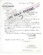 76 - Seine-maritime - ROUEN - Facture LOUVET-RENAUX - Allumettes Chimiques - 1924 - REF 130B - France