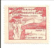 Arnhem 1897.Landgoed Sonsbeek.Geldersche Tentoonstelling-JUGENDSTIL !! - Oude Documenten